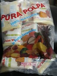 Polpas de frutas congeladas