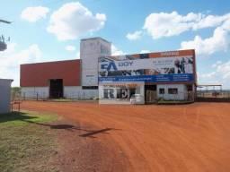 Galpão comercial para locação, Chácaras de Recreio São Joaquim, Goiânia.