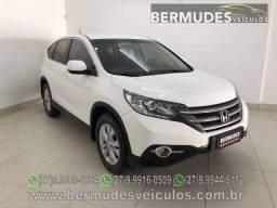 Honda CR-V LX 2.0 2013 Aut / Couro + multimídia