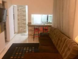 Apartamento com 2 dormitórios à venda por R$ 320.000,00 - Aparecida - Santos/SP