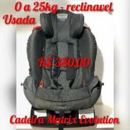 Cadeira Burigotto Automotiva Matrix Evolution