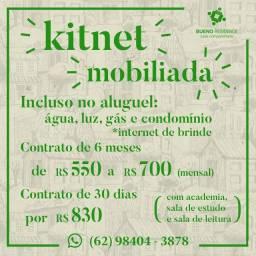 Kitnet mobiliados