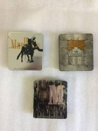 Porta Cigarros de Metal Marlboro - P/ Colecionadores