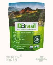 Café Orgânico DBrasil - Torrado e Moído | 250g