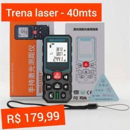 Trena Laser - Infravermelho - Mede 40mts - R$ 179,99