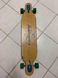 Skate longboard loaded