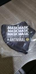 Mascara em tecido antivíral