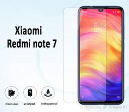 Pelicula de vidro Xiaomi Redmi Note 7 novo