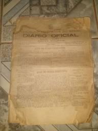 Vendo Diário Oficial edição de 1975