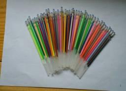 Caneta gel (refil) para livro de colorir e tambem escritas em cartoes, convites e outros