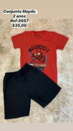 Short E Camiseta Maydu Kids