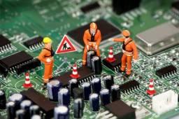Manutenção (conserto) de tv, aparelhos de som e microondas