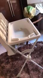 Banheira infantil com trocador!