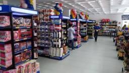 Montagem completa de supermercados, projeto3D e equipamentos