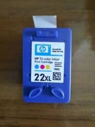 Título do anúncio: Cartucho 22 XL HP Tri-color