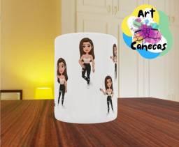 ArtCanecas/ Caneca Personalizada com a sua caricatura/ Ideal para presentes