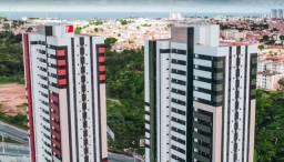 Apartamento 2 quartos e suite com varanda no condominio clube Dellavia Barro Duro