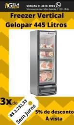 Freezer Vertical -21 Gelopar Novo