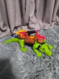 Crocodilo Pirata Imaginext