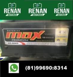 Título do anúncio: Bateria 100ah 12 meses de garantia