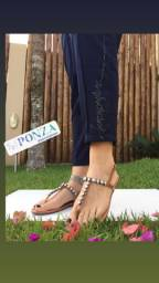 Sandália Rasteira rasteirinha sandália