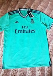 Camisa Real Madrid original na etiqueta 130$