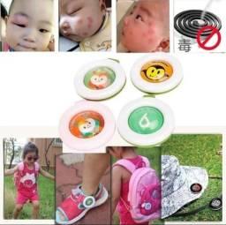 Broche - Botons Repelentes para Bebês, Crianças, Gestantes, Adultos e Idosos