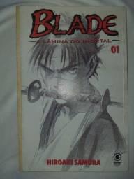 Título do anúncio: Vendo HQ mangá, Blade, a lâmina do imortal. Edição 1. Hiroaki Samura.