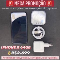 iPhone X 64GB PROMOÇÃO !!!!