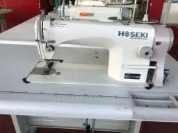 Máquina de costura reta nova
