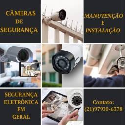 Câmeras/ Alarmes/ Interfones etc