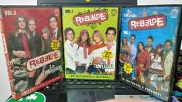 Dvds da novela REBELDE