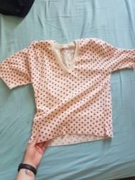 Blusinha de lã Marisa