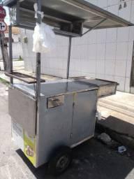 Pra vender logo carrinho de lanche tapioca