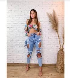 Calça Mom Carmen Jeans