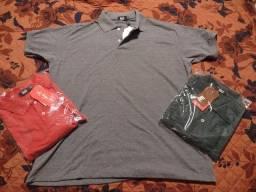 Título do anúncio: Kit 3 camisas pólo de alta qualidade GG