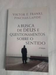 Livro A Busca De Deus E Quesionamentos Sobre O Sentido