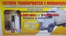 Título do anúncio: Valores Acessíveis: Caminhão Baú RETORNANDO VÁZIO de ZONA SUL  SP para SÃO