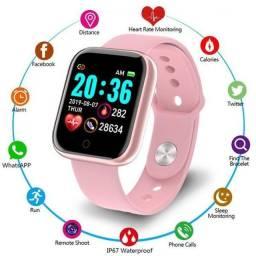 Relógio Smartwatch Y68 D20 ROSA