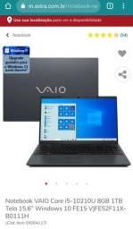 Título do anúncio: Vendo Notebook I5 8GB 1TB Tela 15.6 Windows 10