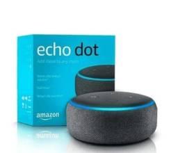 Título do anúncio: Alexa Echo Dot 3ª Geração Preto Lacrado