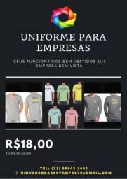 Camisas para sua empresa