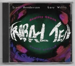 Sensacional,Incrivel Cd de Jazz:Reality Check Tribal Check