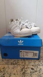 Tênis Adidas Superstar branco n42