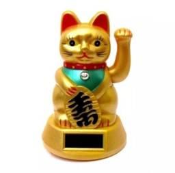 Gato Da Sorte maneki neko pequeno