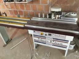 Maquinas para marcenaria, esquadrejadeira e coladeira de borda