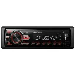 Rádio Pioneer Player Automotivo Pioneer MVH-295BT SD / USB