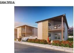 Casa na praia dos carneiros - plano direto - área de lazer completa $640 mil