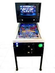 Máquina Pinball Virtual Multijogos 120 mesas Arcade Fliperama