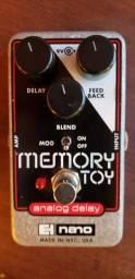 Pedal delay analógico memory toy EHX